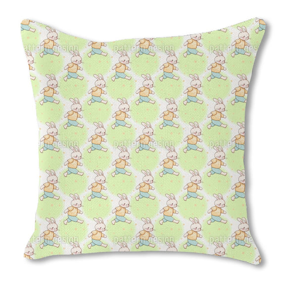 Busy Bunnies Outdoor Pillows