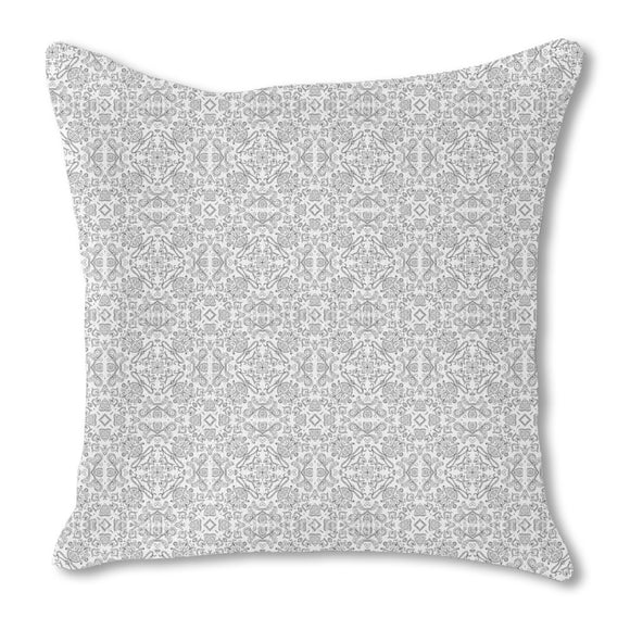 Kaleidoscopic Dream Outdoor Pillows