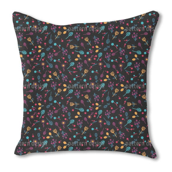 Fantasy Florals Outdoor Pillows
