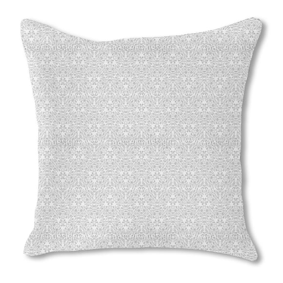 Intricate Filigree Tendrils Outdoor Pillows