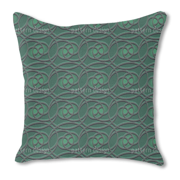 Celtic Emerald Outdoor Pillows