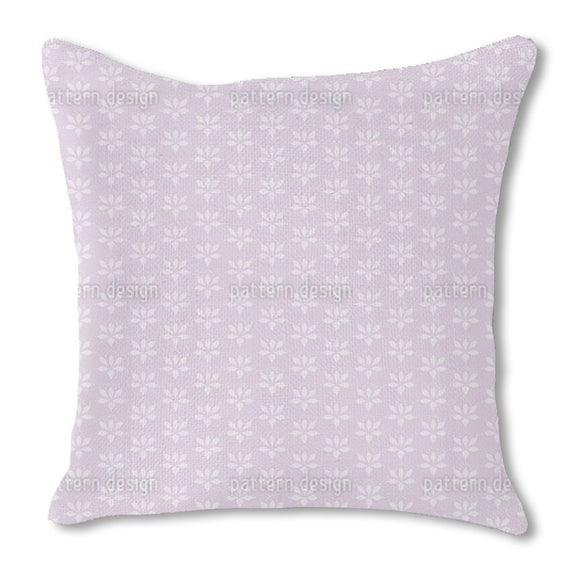 Blossom Drops Lavender Outdoor Pillows