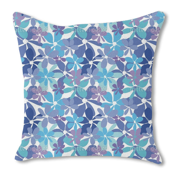 Explosion Floral Outdoor Pillows