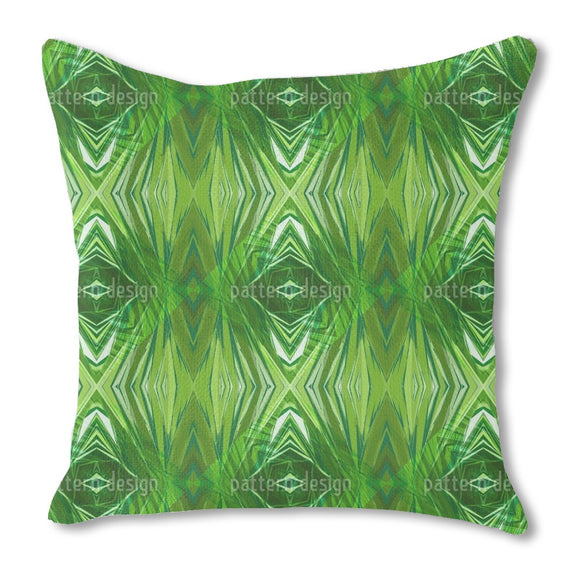 Crystal Jungle Outdoor Pillows
