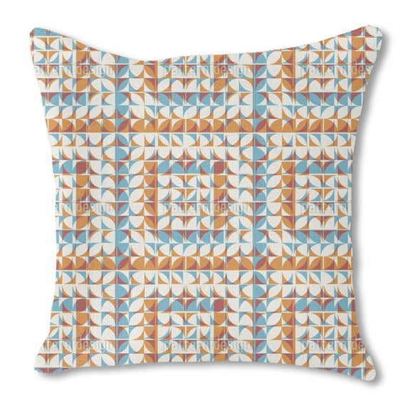 Tiled Geometry Outdoor Pillows