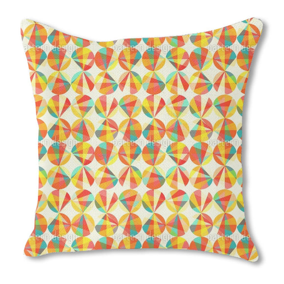 Light Circles Outdoor Pillows