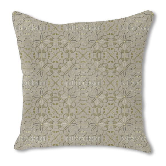 Embossed Flowers Outdoor Pillows