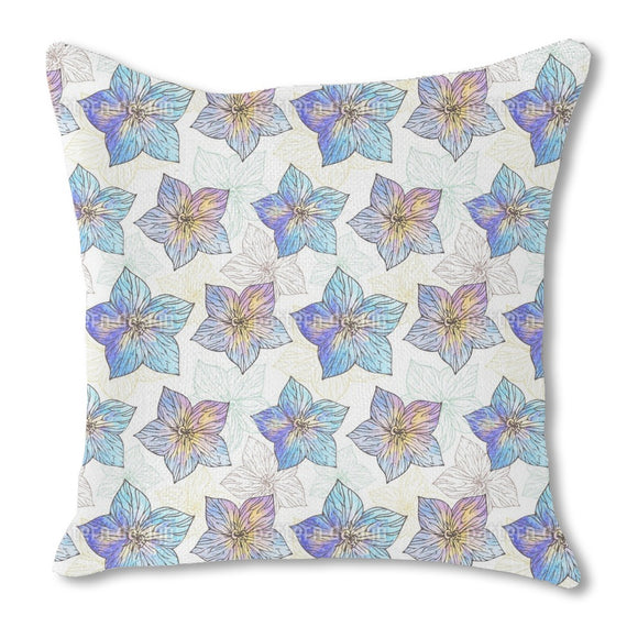 Watercolor Hibiscus Outdoor Pillows
