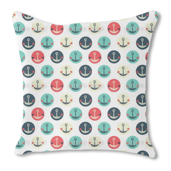 Anchors Of Love Outdoor Pillows