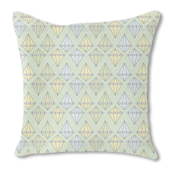 Pearls And Diamonds Outdoor Pillows