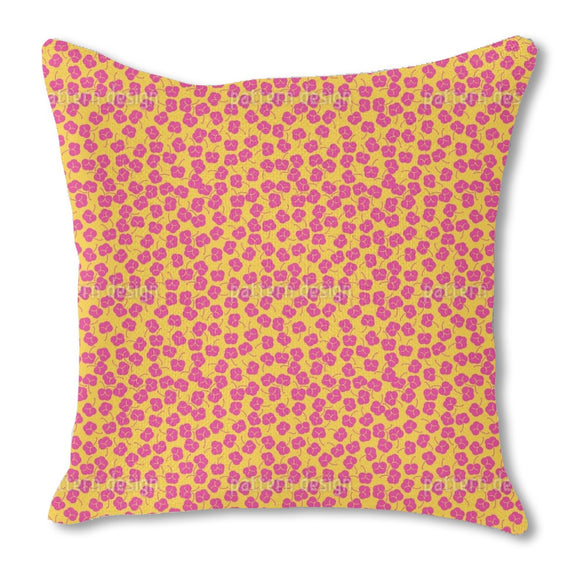 Plum Bloom Outdoor Pillows