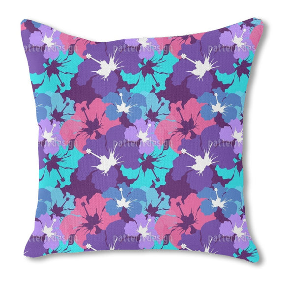 Hibiscus Explosion  Outdoor Pillows