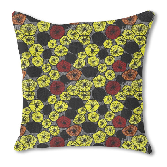 Fruit Slices Mix Outdoor Pillows