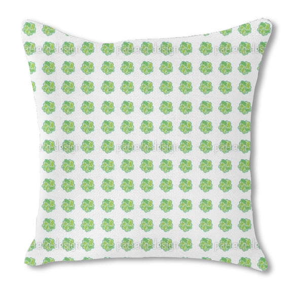 Leaf Swirl Outdoor Pillows