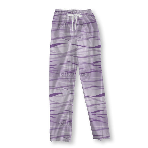 Waves In Lilaq Pajama Pants