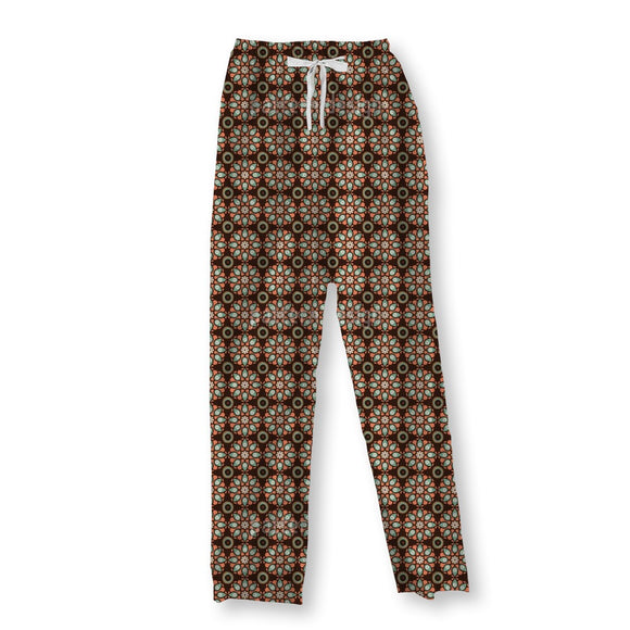 Flower Sindhi Pajama Pants
