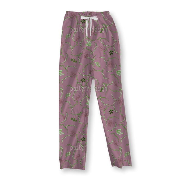 Different Succulents Pajama Pants