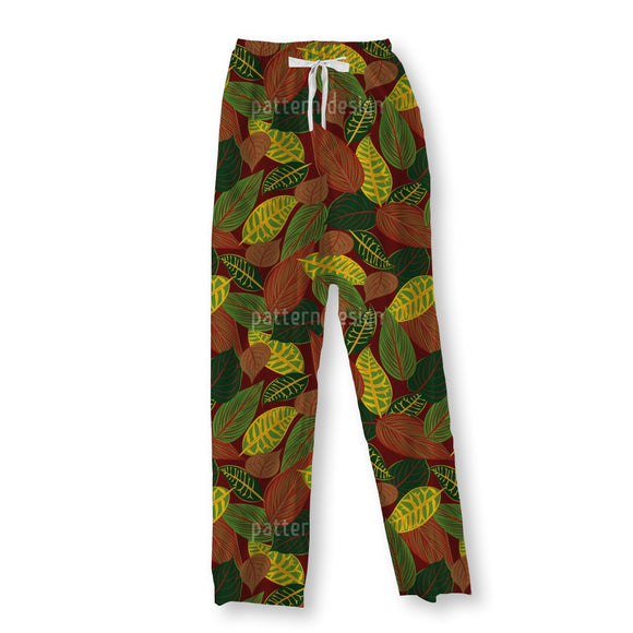 Autumn Composition Pajama Pants