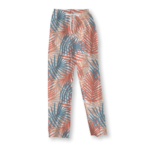 Palm Leaf Blanket Pajama Pants