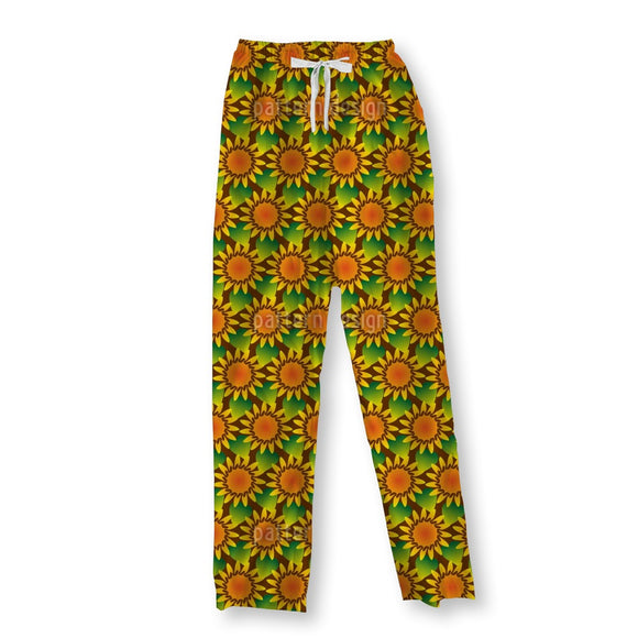 Field Of Sunflowers Pajama Pants