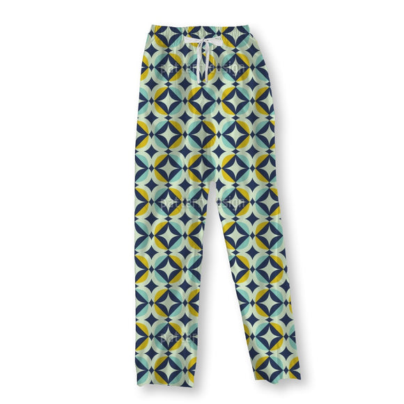 Scandinavian Retro Pajama Pants