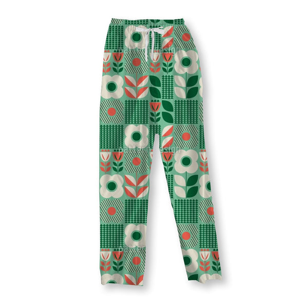 Retro Scandinavian Pajama Pants