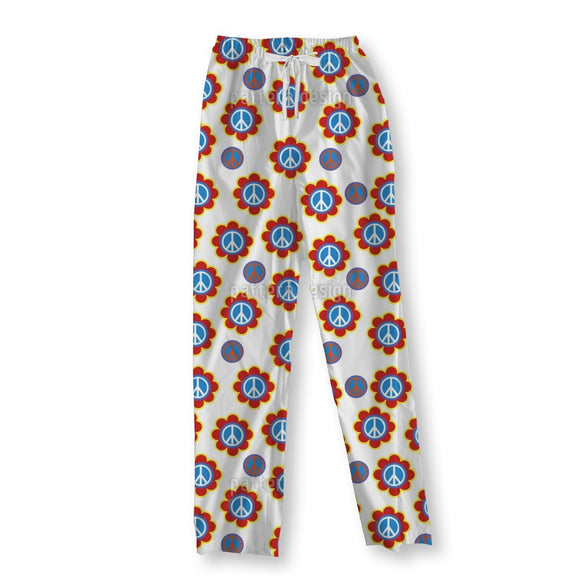 Symbol Of Peace Pajama Pants