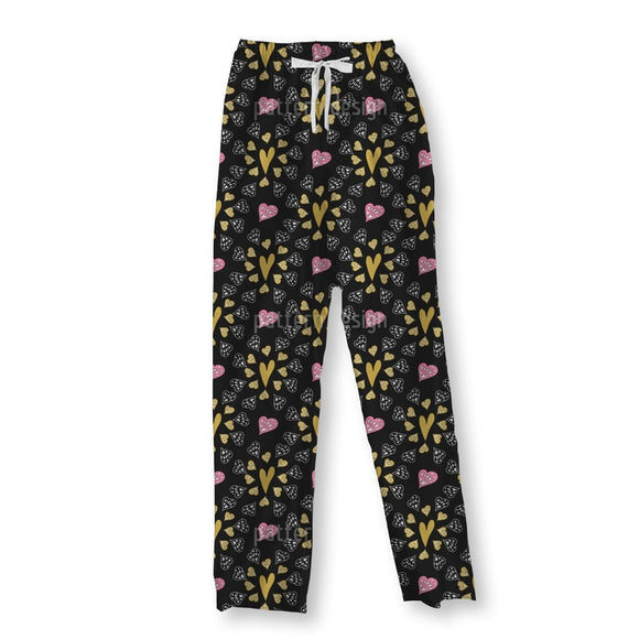 Lovely Little Hearts Pajama Pants
