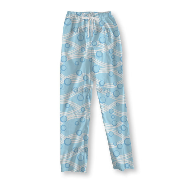 Waves And Bubbles Pajama Pants