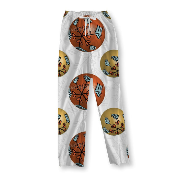 3D Christmas Baubles Pajama Pants