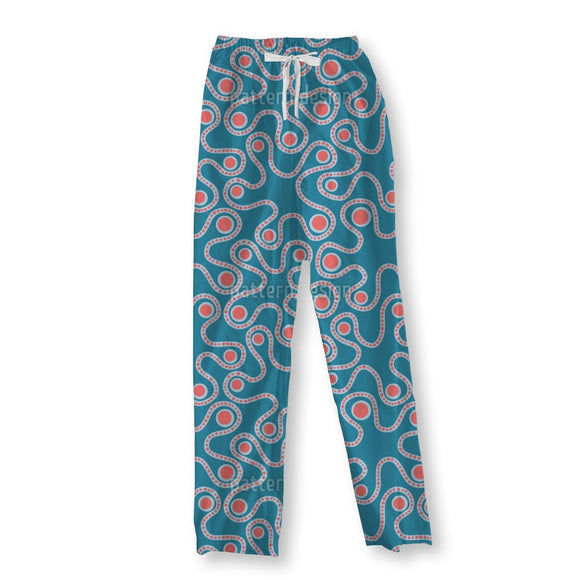 Abstract Enzymes Pajama Pants
