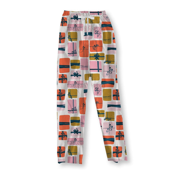 Gift Boxes With Loops Pajama Pants