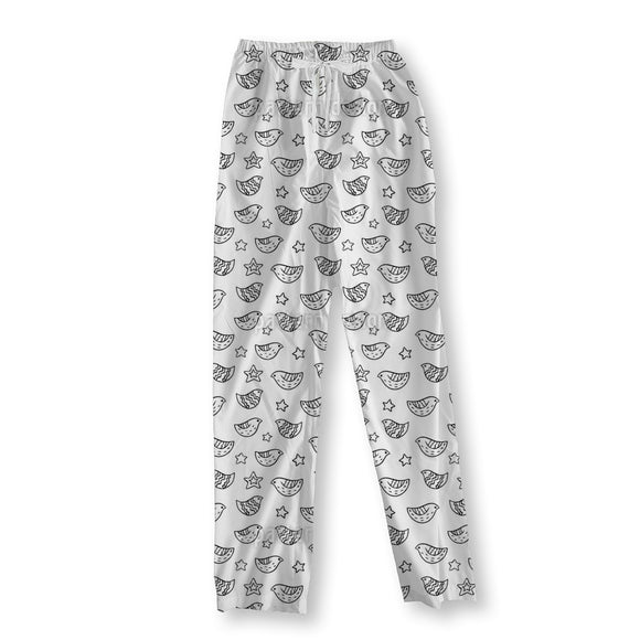 Birds And Stars Pajama Pants