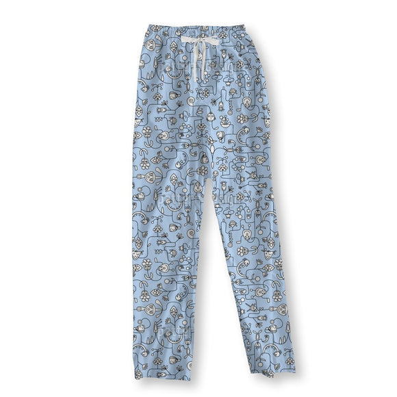 Greeting Characters Pajama Pants