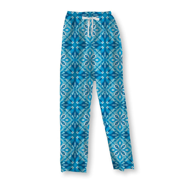 Flower Glass Window Pajama Pants