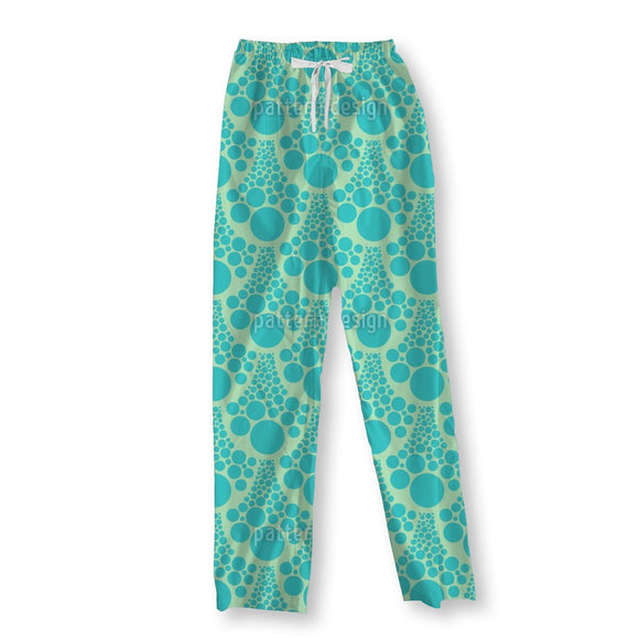 Clear Waves Of Foam Pajama Pants