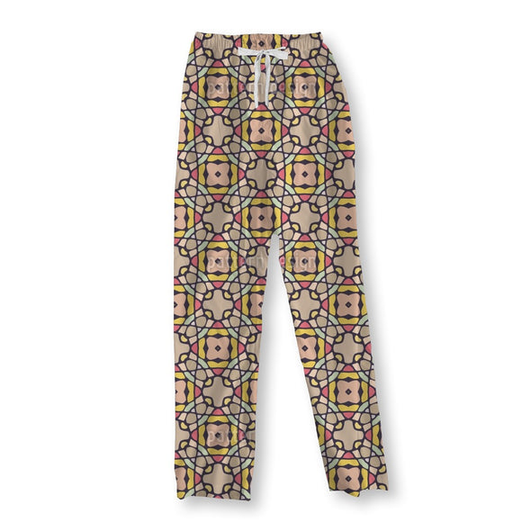 Kaleidoscopic Tiles Pajama Pants