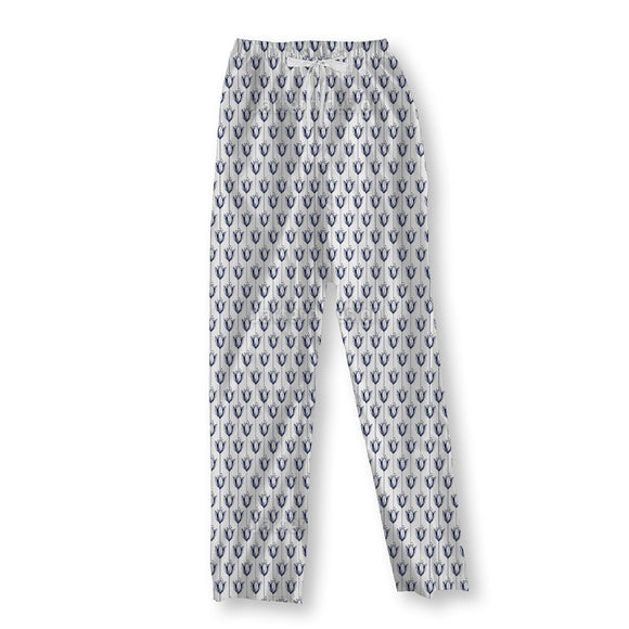 Stylized ink tulips Pajama Pants
