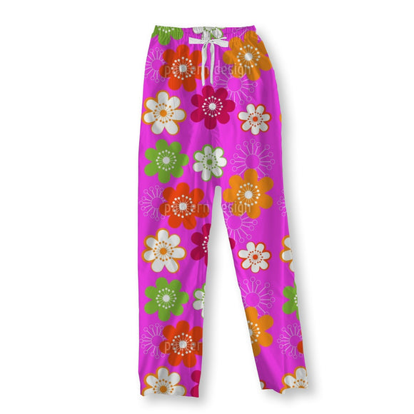 Original Hippie Flowers Pajama Pants
