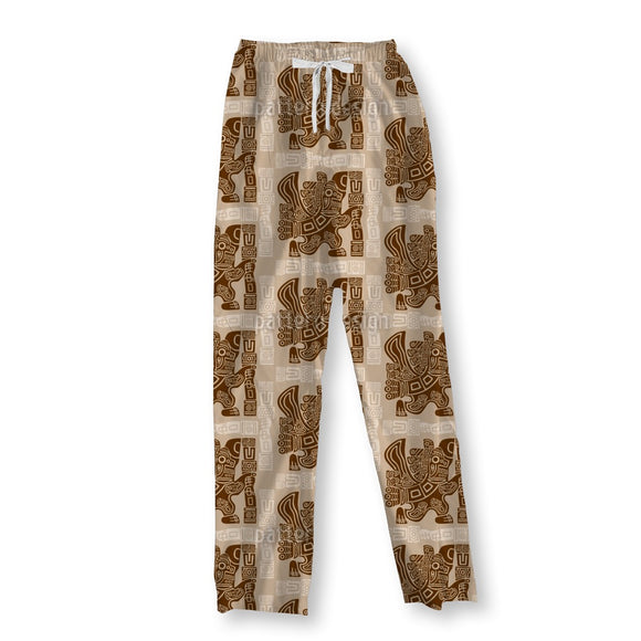 Aztec Eagle Warrior Pajama Pants