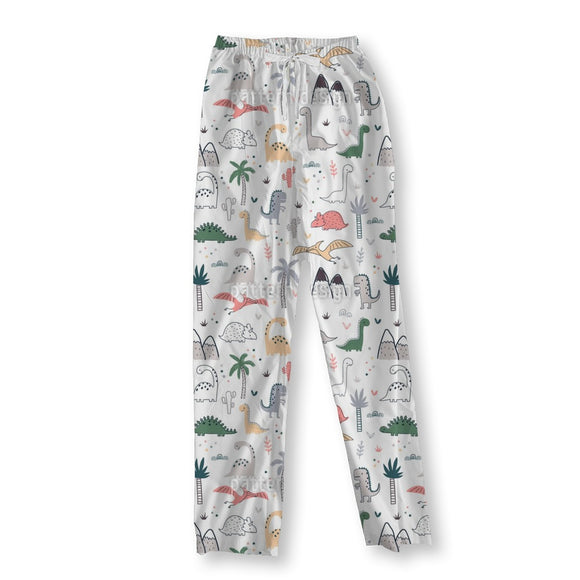 Dinosaur Land Pajama Pants