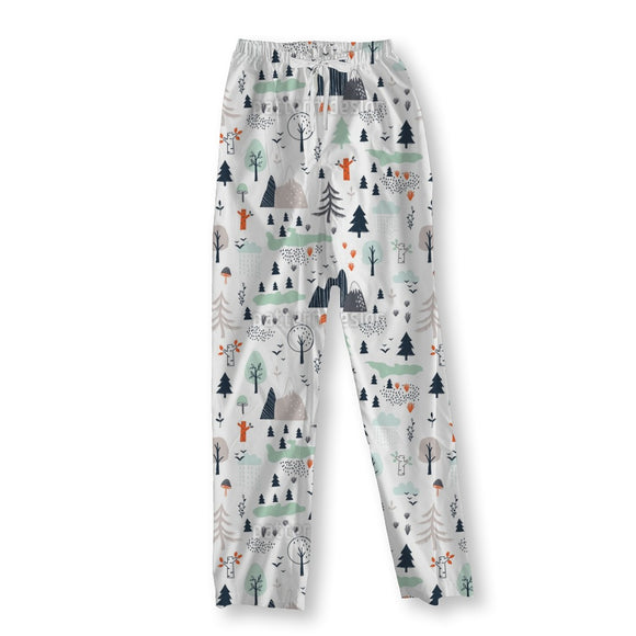 Mountain Landscape Pajama Pants