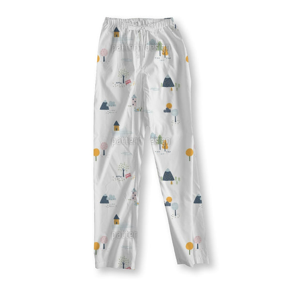 Little Houses Pajama Pants