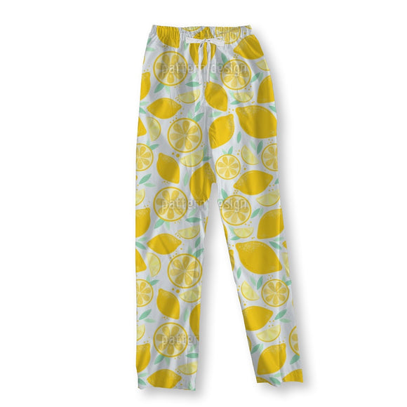Fresh And Juicy Lemons Pajama Pants