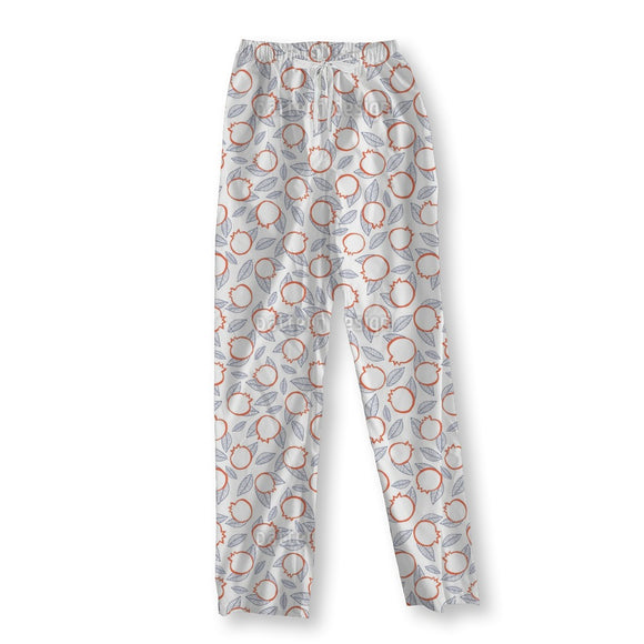 Romantic Pomegranate Pajama Pants