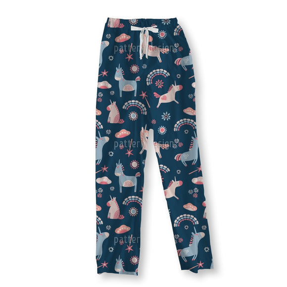 Unicorns And Rainbows Pajama Pants