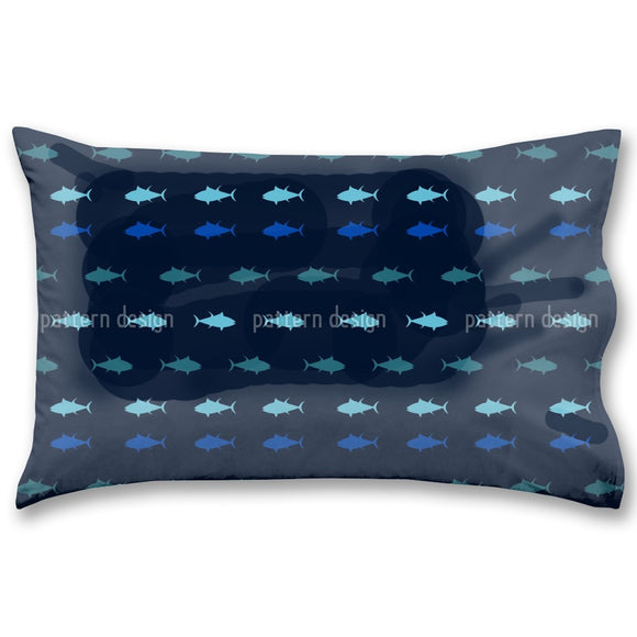 Nautical Tuna Pillow Case