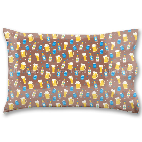 Octoberfest Beer Pillow Case