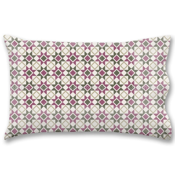 Stars And Rhombs Pillow Case