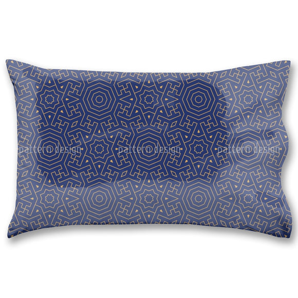 Moroccan Labyrinth Pillow Case